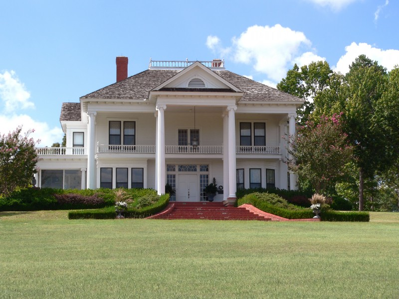 Gallery For Plantation House Plans With Columns
